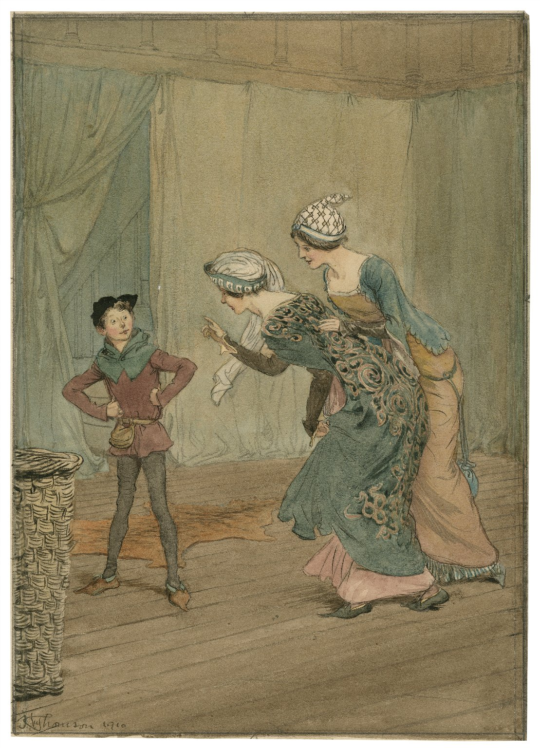 [Illustrations to Merry wives of Windsor] [graphic] / Hu. Thomson.