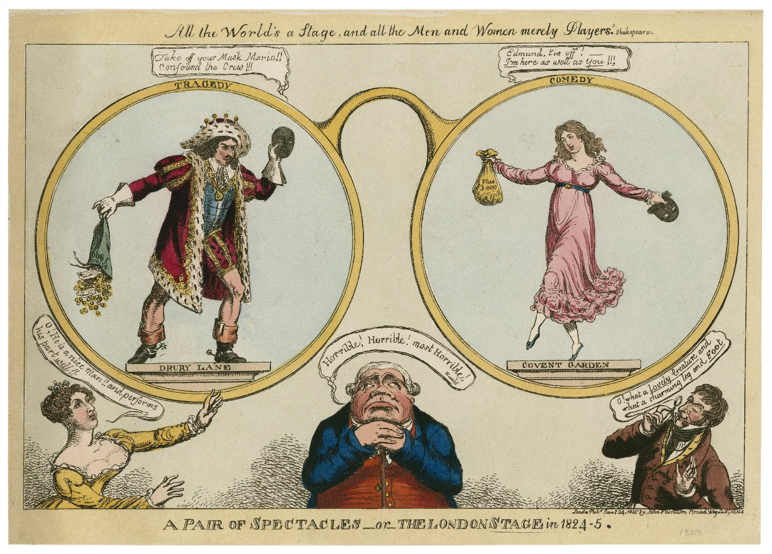 A pair of spectacles, or, The London stage in 1824-5 [graphic].
