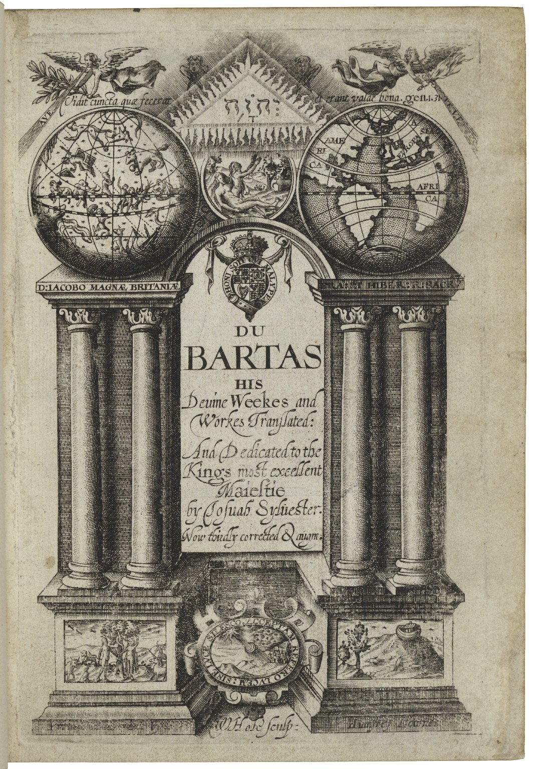 [Works. English] Du Bartas his deuine weekes and workes translated ...
