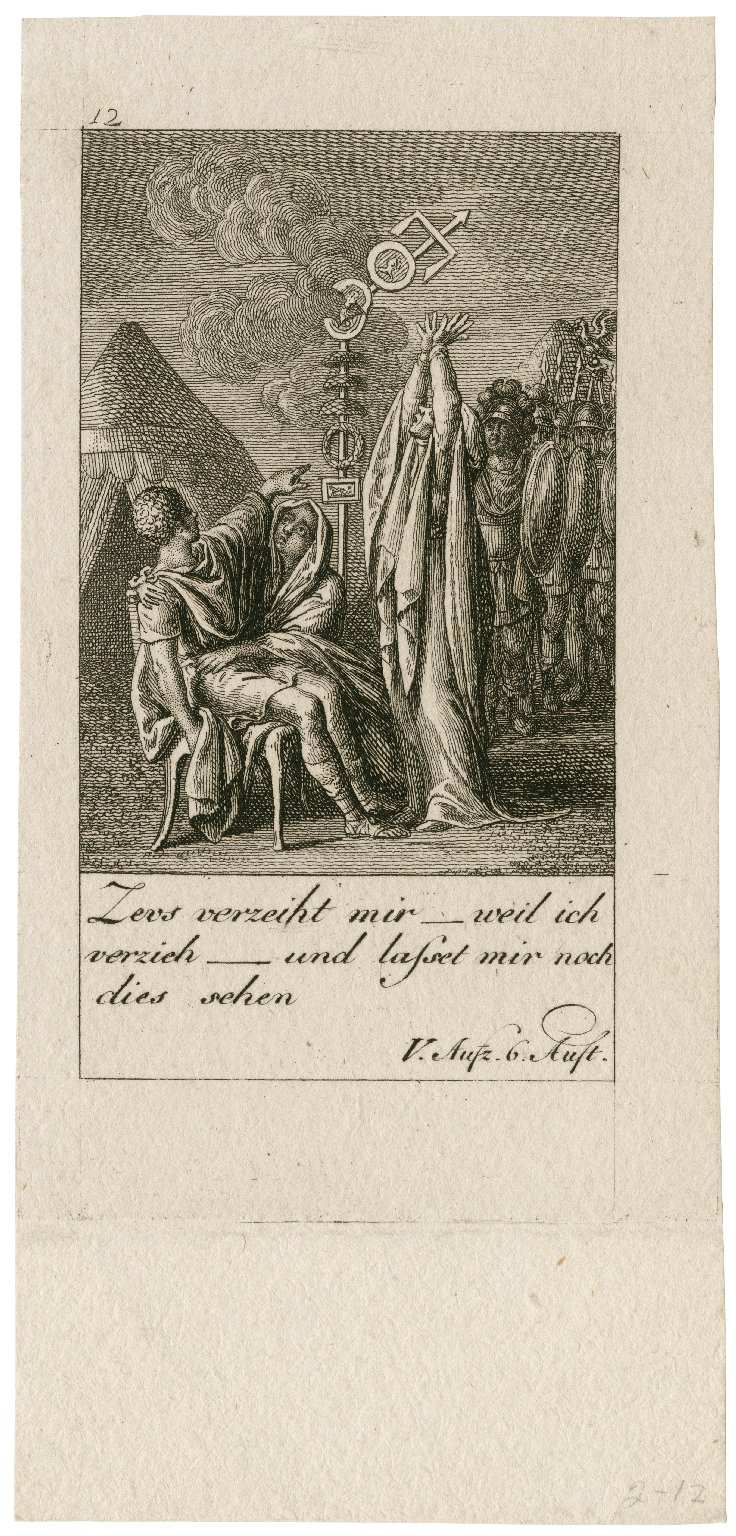 [Coriolanus, 12 plates illustrating scenes from the play] [graphic] / D. Chodowiecki, del et sc.