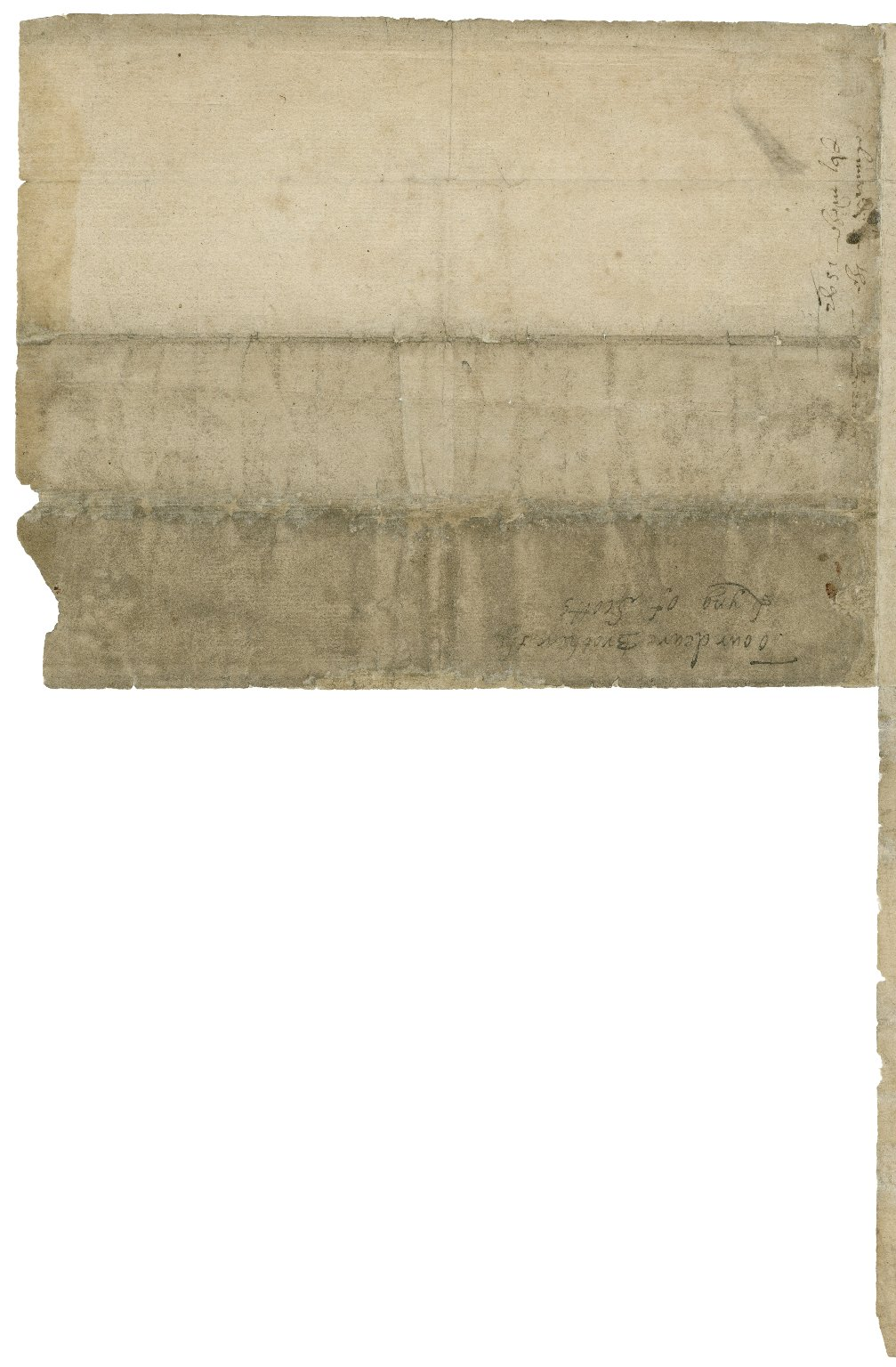 Autograph letter signed from Elizabeth I, Queen of England, to James VI, King of Scotland [manuscript]