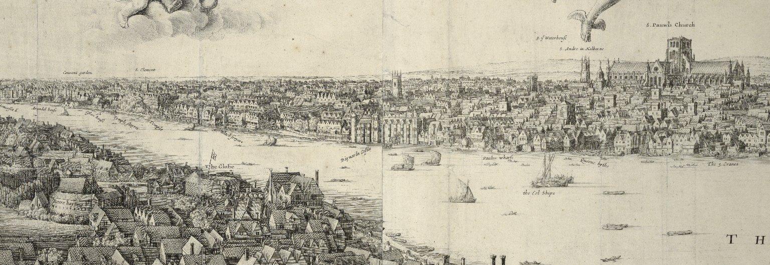 [London. The long view] Ad Londinvm epitomen & ocellvm.