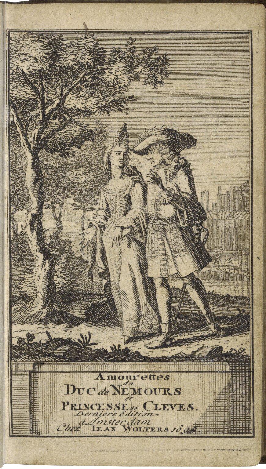 [Princesse de Clèves] Amourettes du duc de Nemours et princesse de Clèves.