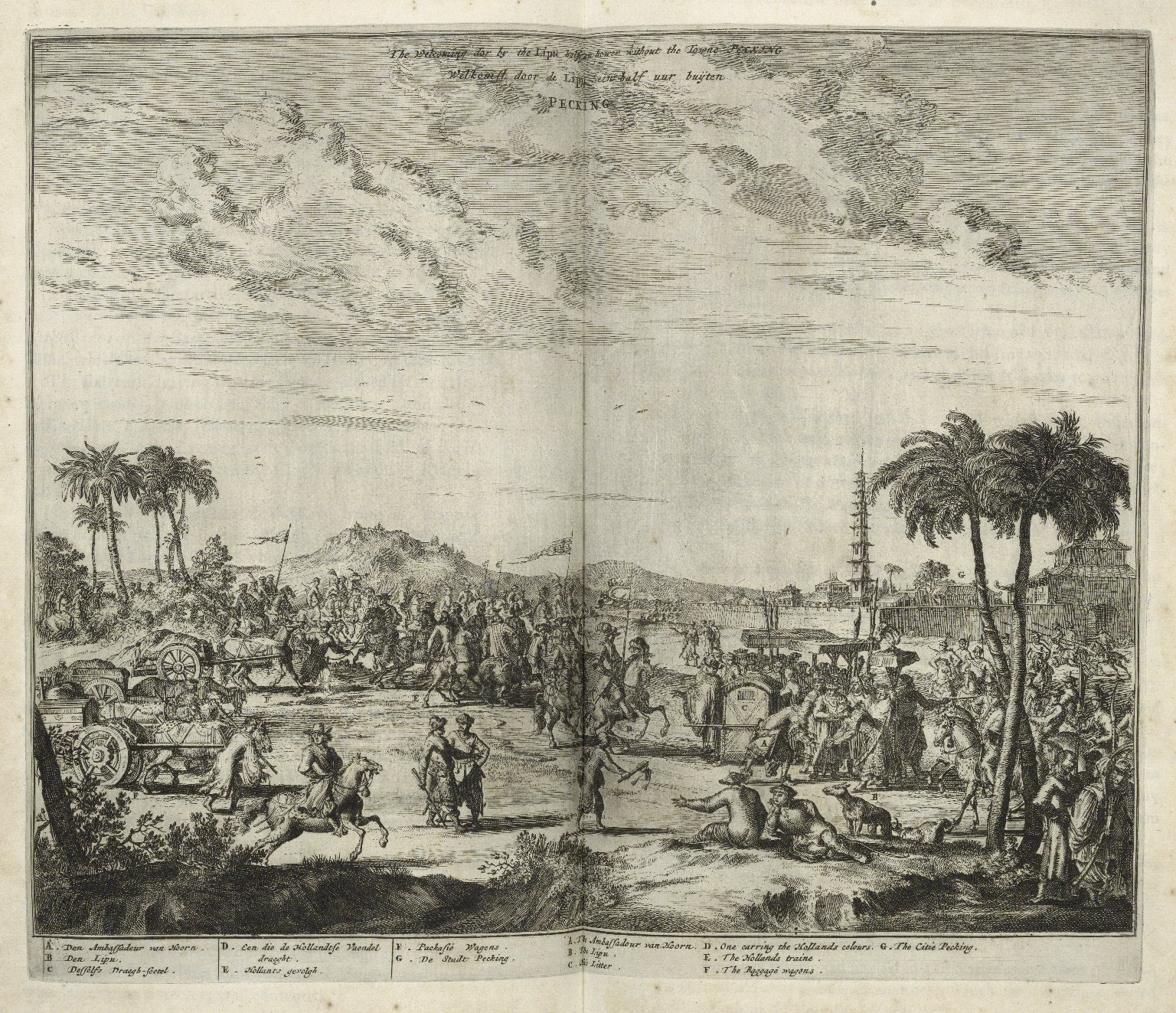 Atlas Chinensis: being a second part of a relation of remarkable passages in two embassies from the East-India Company of the United Provinces, to the vice-roy Singlamong and General Taising Lipovi, and to Konchi, Emperor of China and East-Tartary.