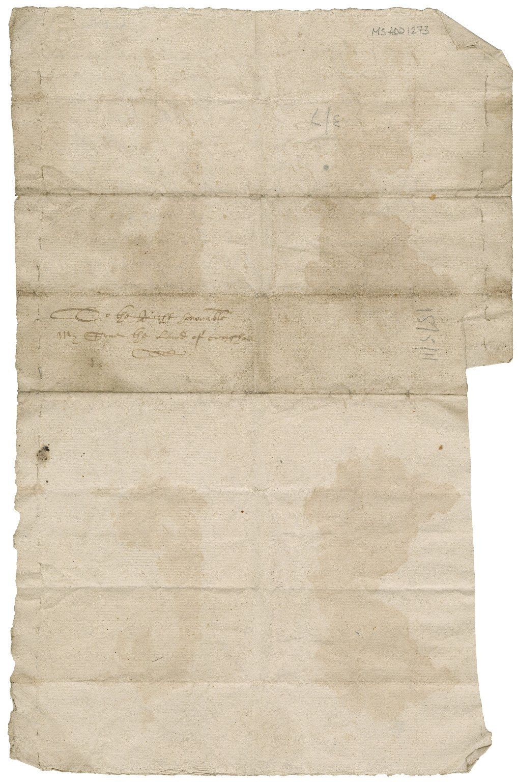 Letter from William Fullerton of that Ilk to Sylvester Rattray of Craighall, Meigle