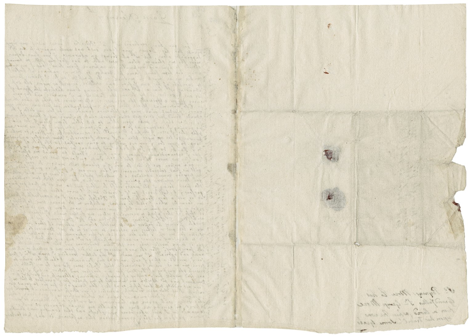 More, Sir Poynings. Letter. To Sir George More. Paris.