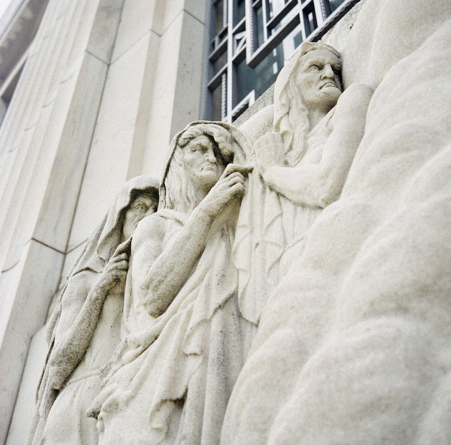 Macbeth bas relief