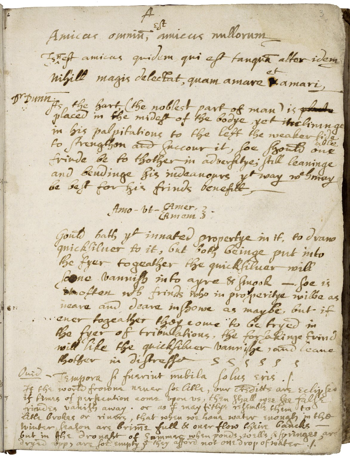 Commonplace book and miscellany [manuscript]