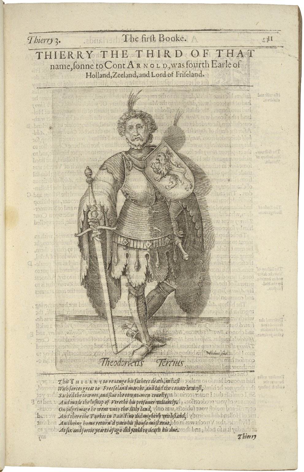 A generall historie of the Netherlands: vvith the genealogie and memorable acts of the Earls of Holland, Zeeland, and west-Friseland, from Thierry of Aquitaine the first Earle, successiuely vnto Philip the third King of Spaine: continued vnto this present
