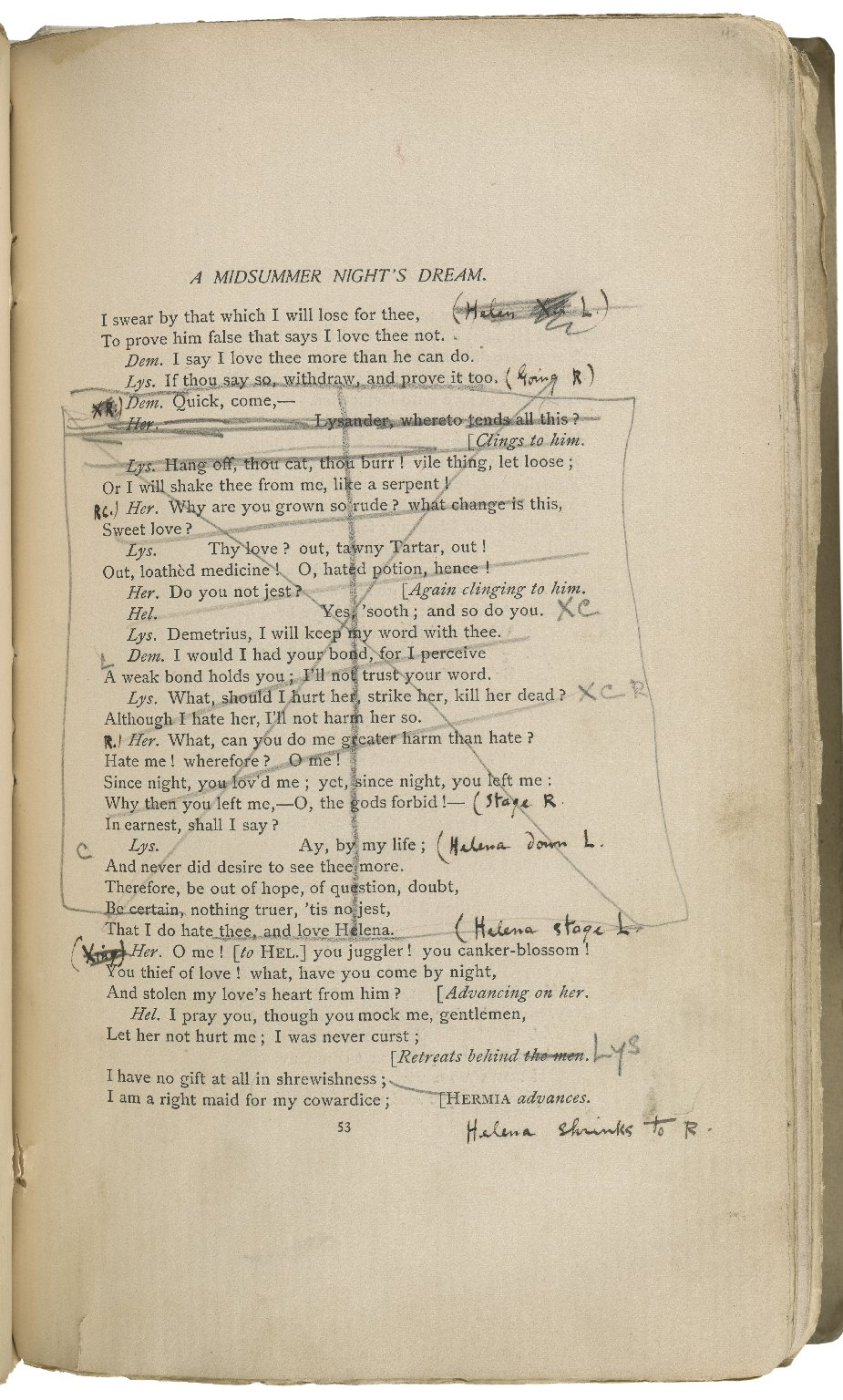 A midsummer night's dream ... Arranged for representation at Daly's Theatre, by Augustin Daly. Produced there for the first time, January 31, 1888.
