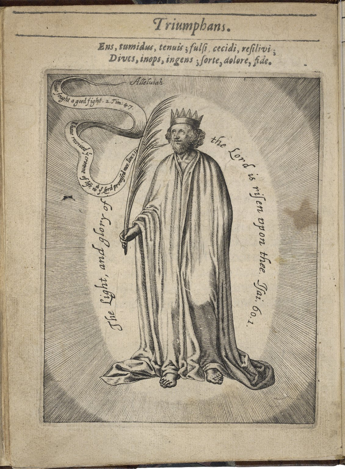 The historie of the perfect-cursed-blessed man: setting forth mans excellency miserie felicitie by his generation, degeneration, regeneration. By I. F. Master of Arts, preacher of Gods word, and rector of Wilbie in Suff.