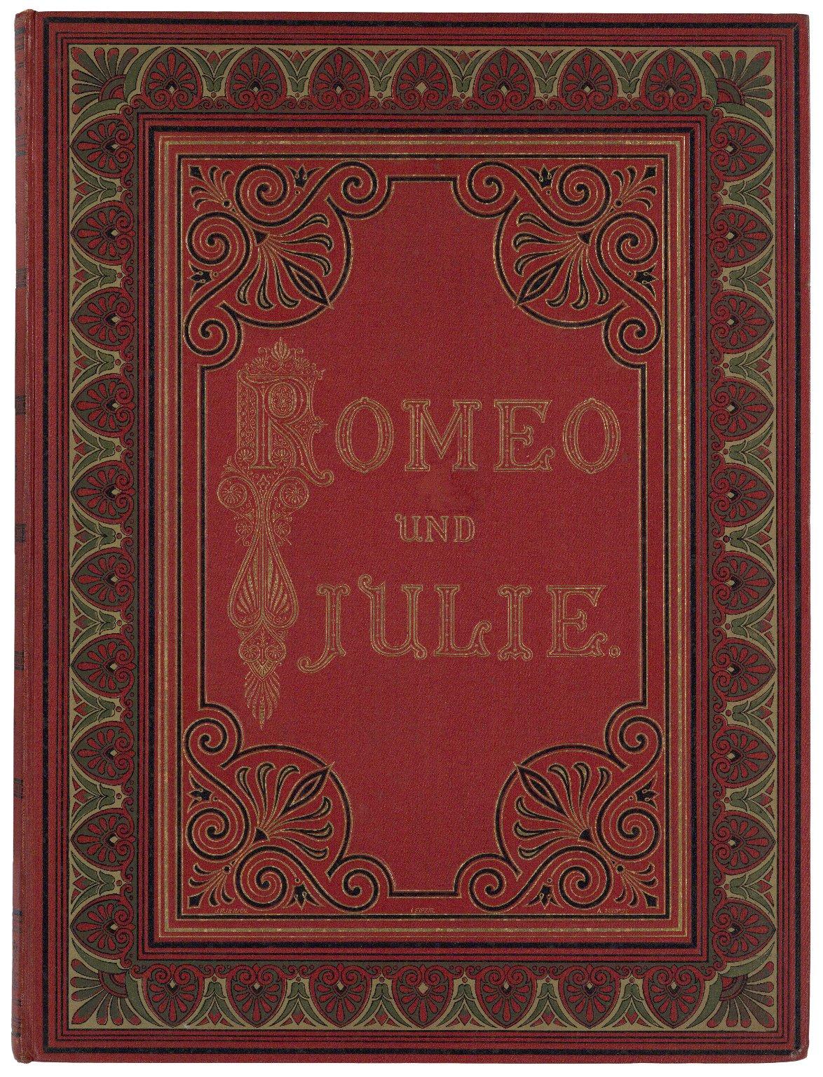 Romeo und Julia / Übersetzt von A.W. von Schlegel ; Mit Heliographien und Holzschnitten nach Ferdinand Piloty ...