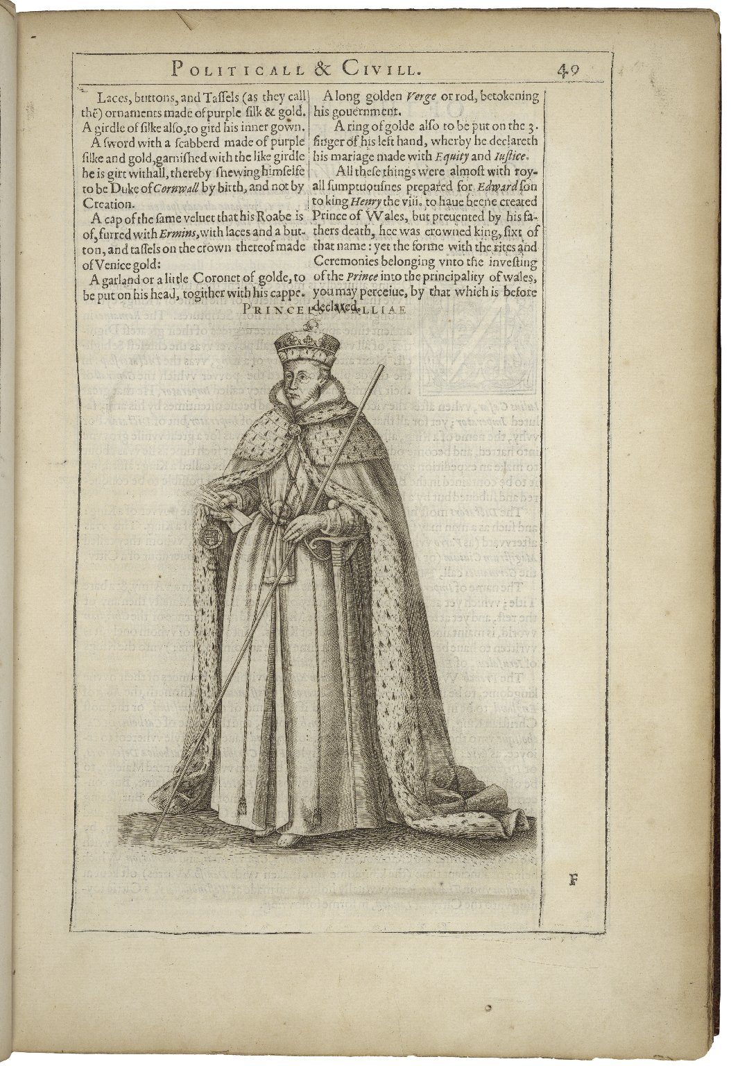 The catalogue of honor or Tresury of true nobility. peculiar and proper to the isle of Great Britaine: that is to say: a collection historicall of all the free monarches aswell kinges of England as Scotland, (nowe vnited togither) with the Princes of Wall