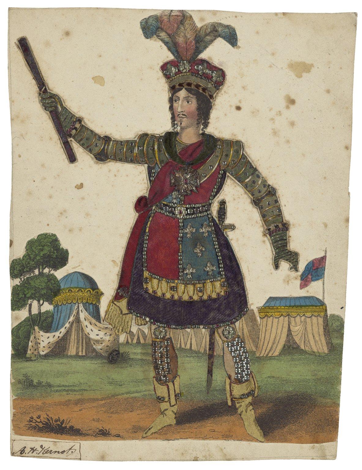 Mrs. Egerton as Henry the Vth [graphic].