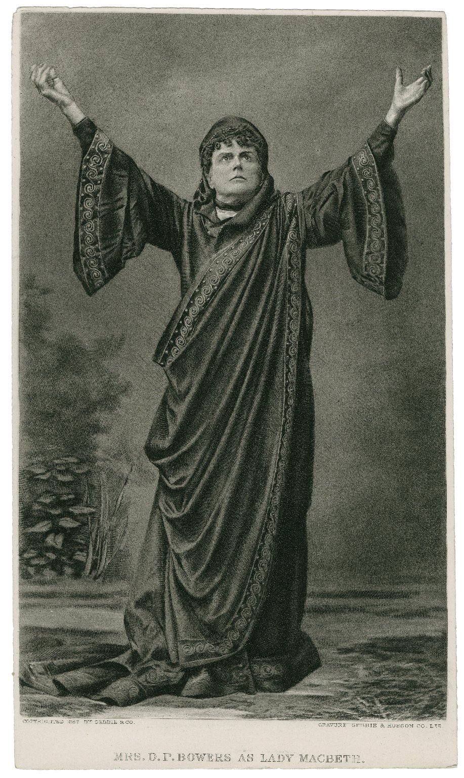 Mrs. D.P. Bowers as Lady Macbeth [graphic].
