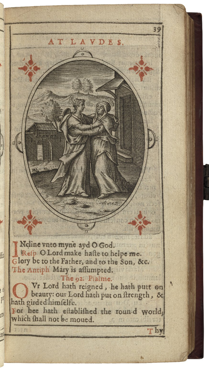 The primer, or Office of the Blessed Uirgin Marie, in Latin and English: according to the reformed Latin. And with like graces priuileged.