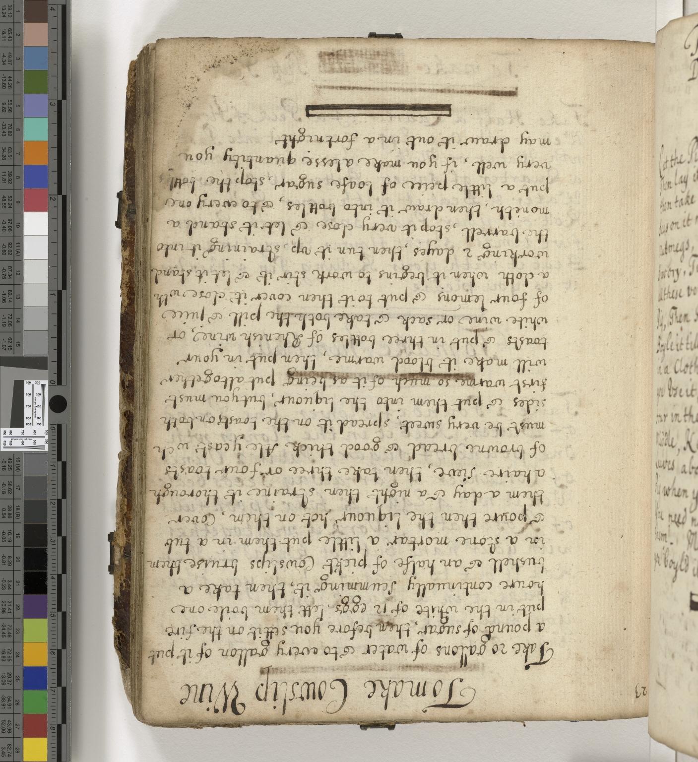 Manuscript cookery book [manuscript]