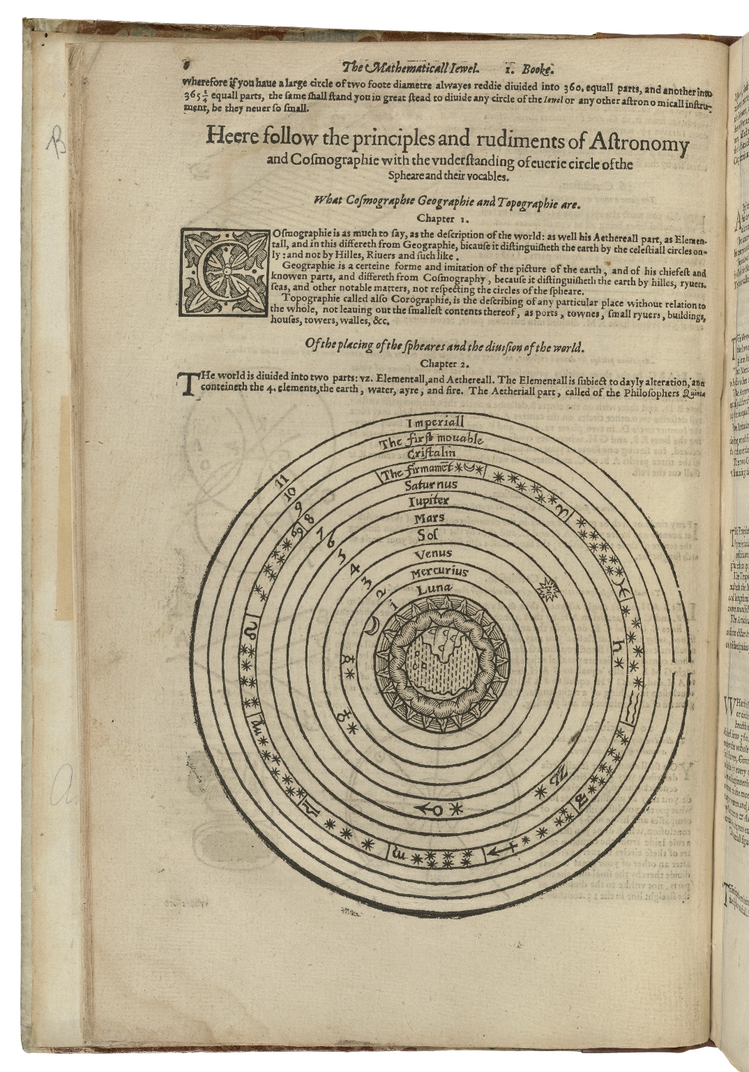 The mathematical ievvel : shewing the making, and most excellent vse of a singuler instrument so called: in that it performeth with wonderfull dexteritie, whatsoeuer is to be done, either by quadrant, ship, circle, cylinder, ring, dyall, horoscope, astrolabe, sphere, globe, or any such like heretofore deuised: ... The vse of which iewel, is so aboundant and ample, that it leadeth any man practising thereon, the direct pathway ... through the whole artes of astronomy, cosmography, ... and briefely of whatsoeuer concerneth the globe or sphere: ... The most part newly founde out by the author, compiled and published ... by Iohn Blagraue of Reading gentleman and well willer to the mathematickes, who hath cut all the prints or pictures of the whole worke with his owne hands. 1585.
