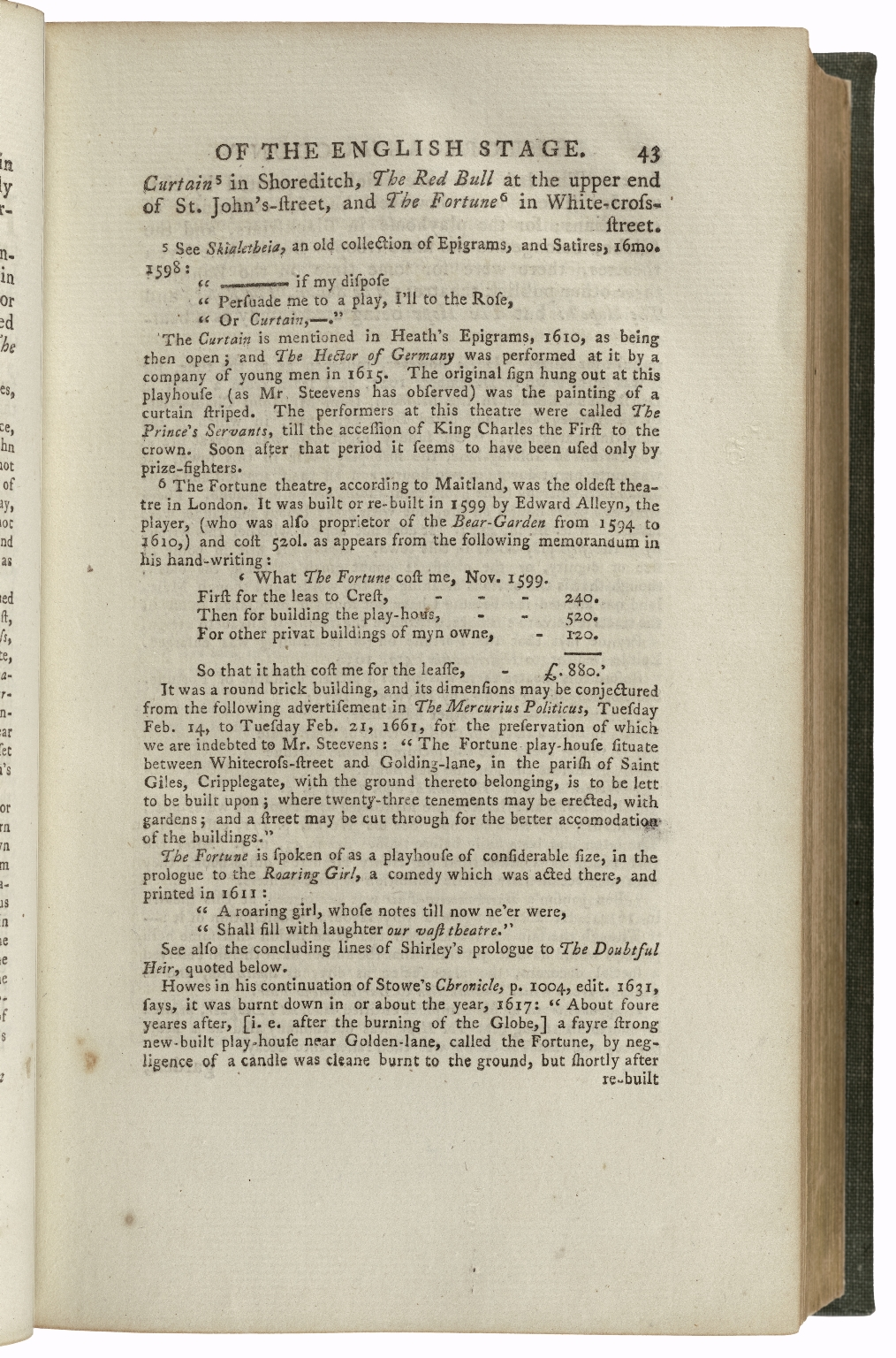 [Works. 1790. Rivington] The plays and poems of William Shakspeare : in ten volumes : collated verbatim with the most authentick copies, and revised, with the corrections and illustrations of various commentators, to which are added, an essay on the chronological order of his plays; an essay relative to Shakspeare and Jonson [sic]; a dissertation on the three parts of King Henry VI; an historical account of the English stage; and notes / by Edmond Malone.