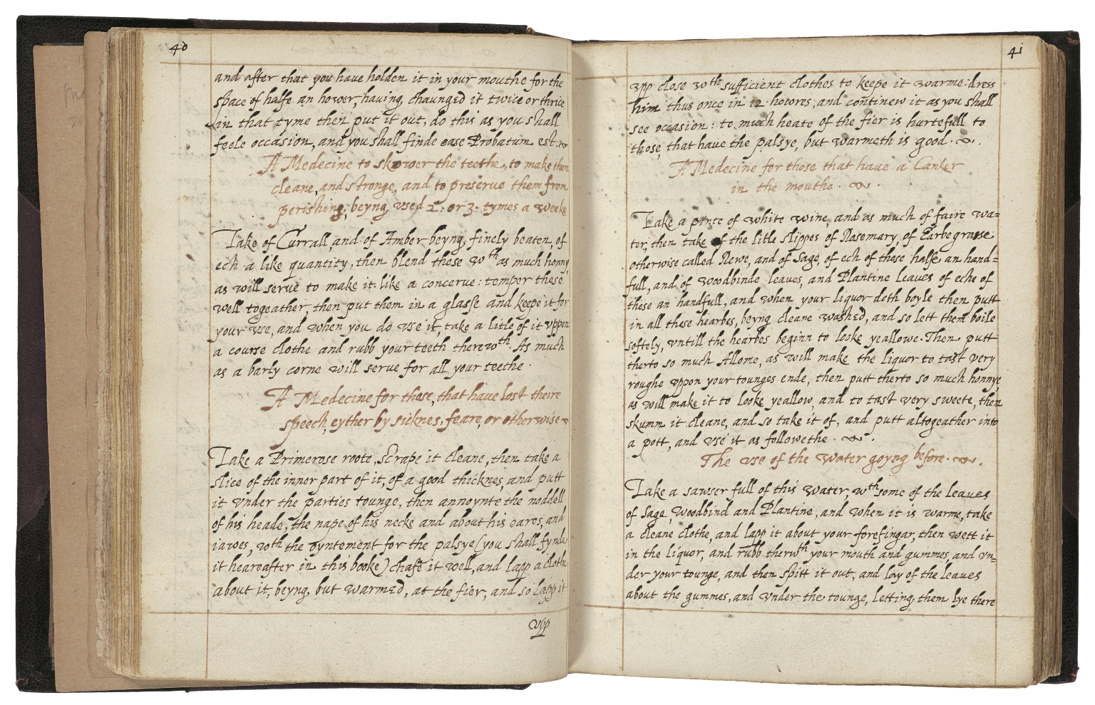 A booke of such medicines as have been approved by the speciall practize of Mrs. Corlyon [manuscript].