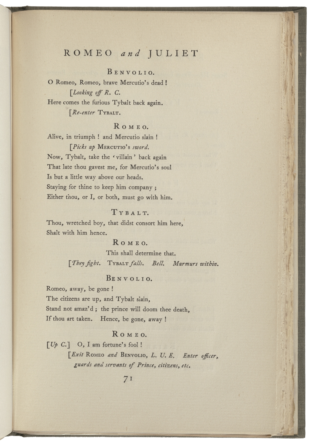 [Romeo and Juliet.] Maude Adams acting edition of Romeo and Juliet / by William Shakespeare ; with drawings by Ernest Haskell and C. Allan Gilbert ; published with the authorization of Charles Frohman.