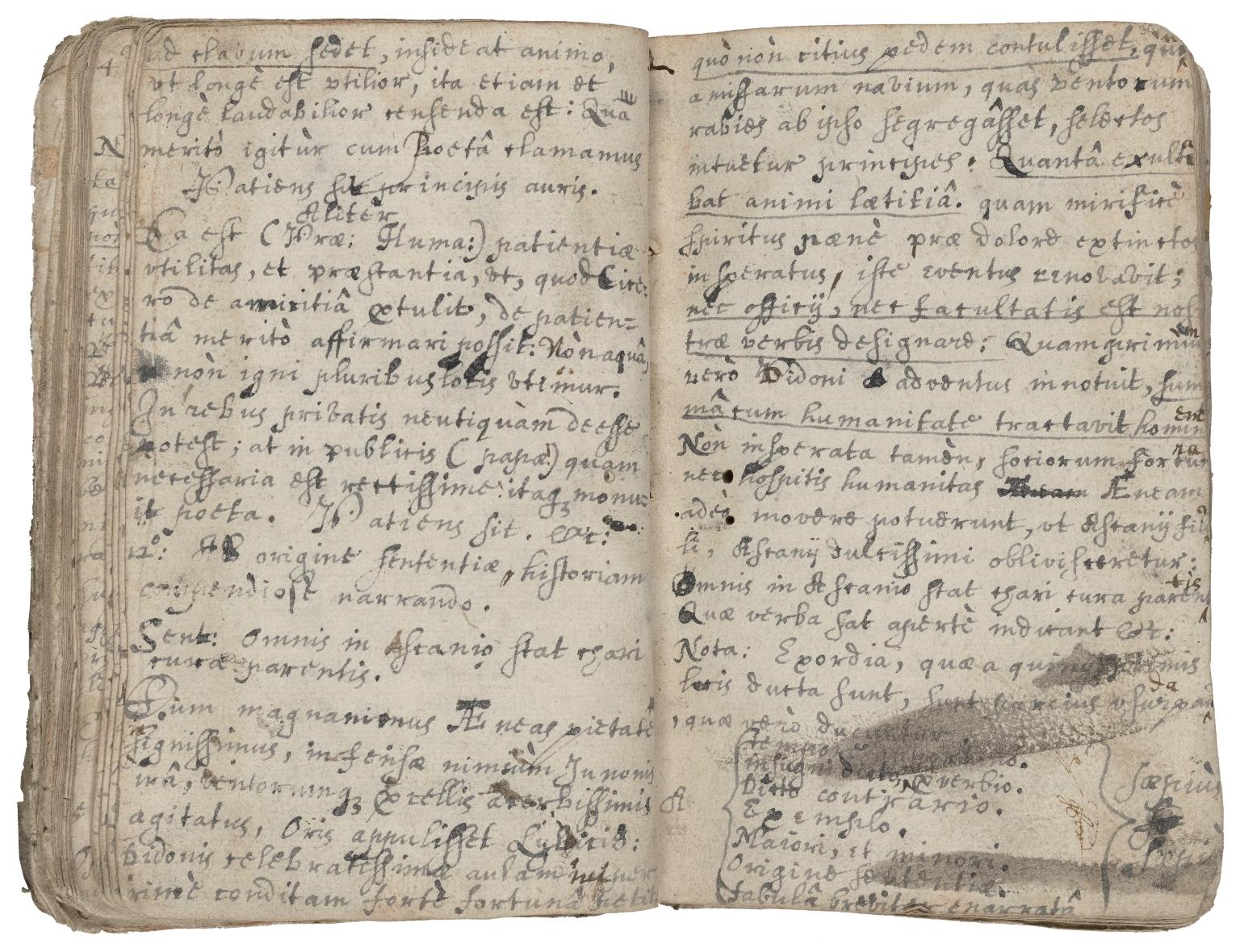 Robert Pendarves his booke amen, written by me ... Anno Domini 1652 [manuscript].