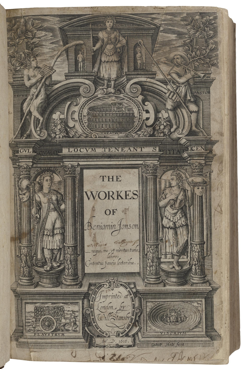 [Works. 1616] The workes of Beniamin Ionson.