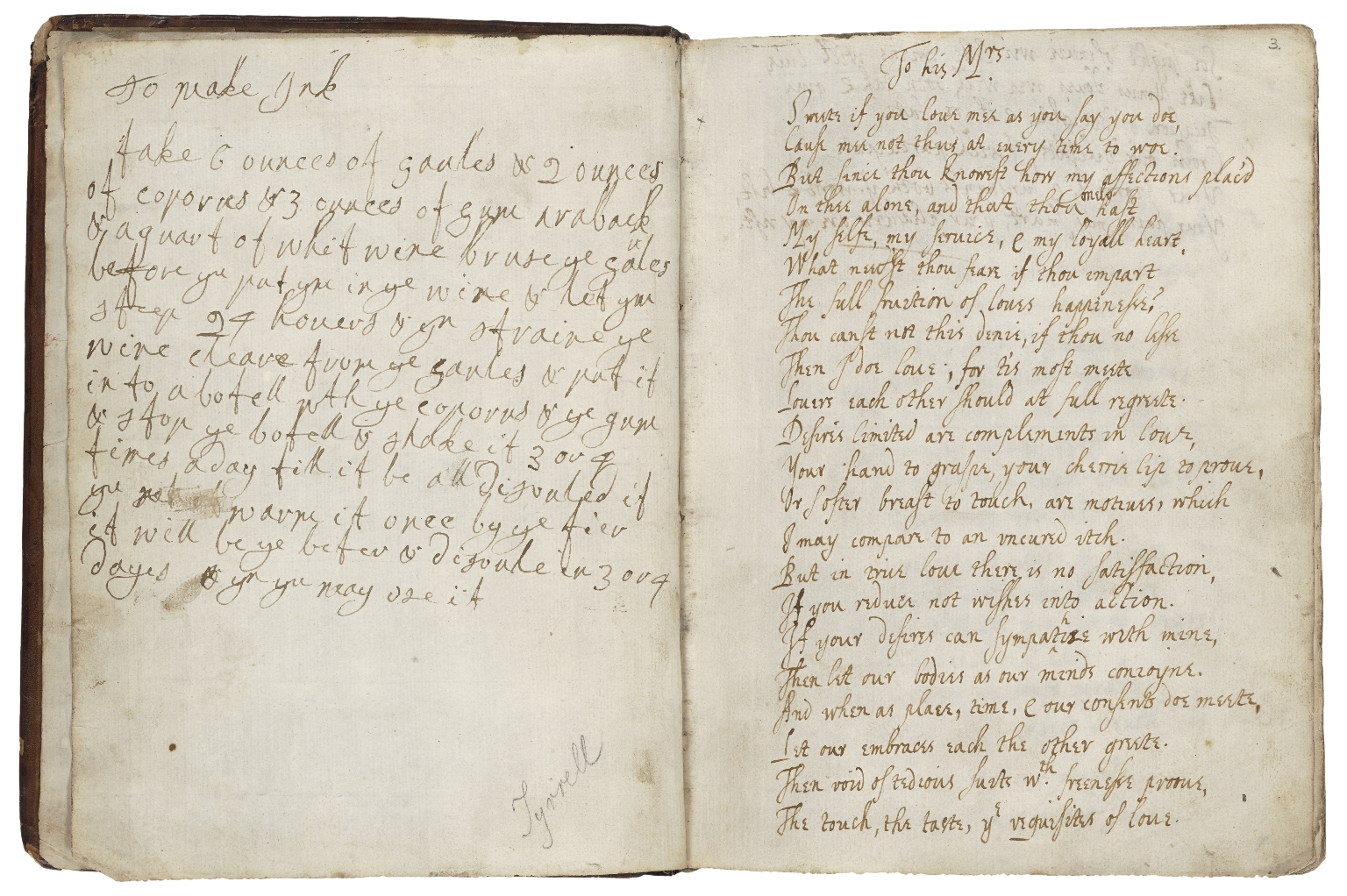 A book of verses collected by me, R. Dungarvan [manuscript].