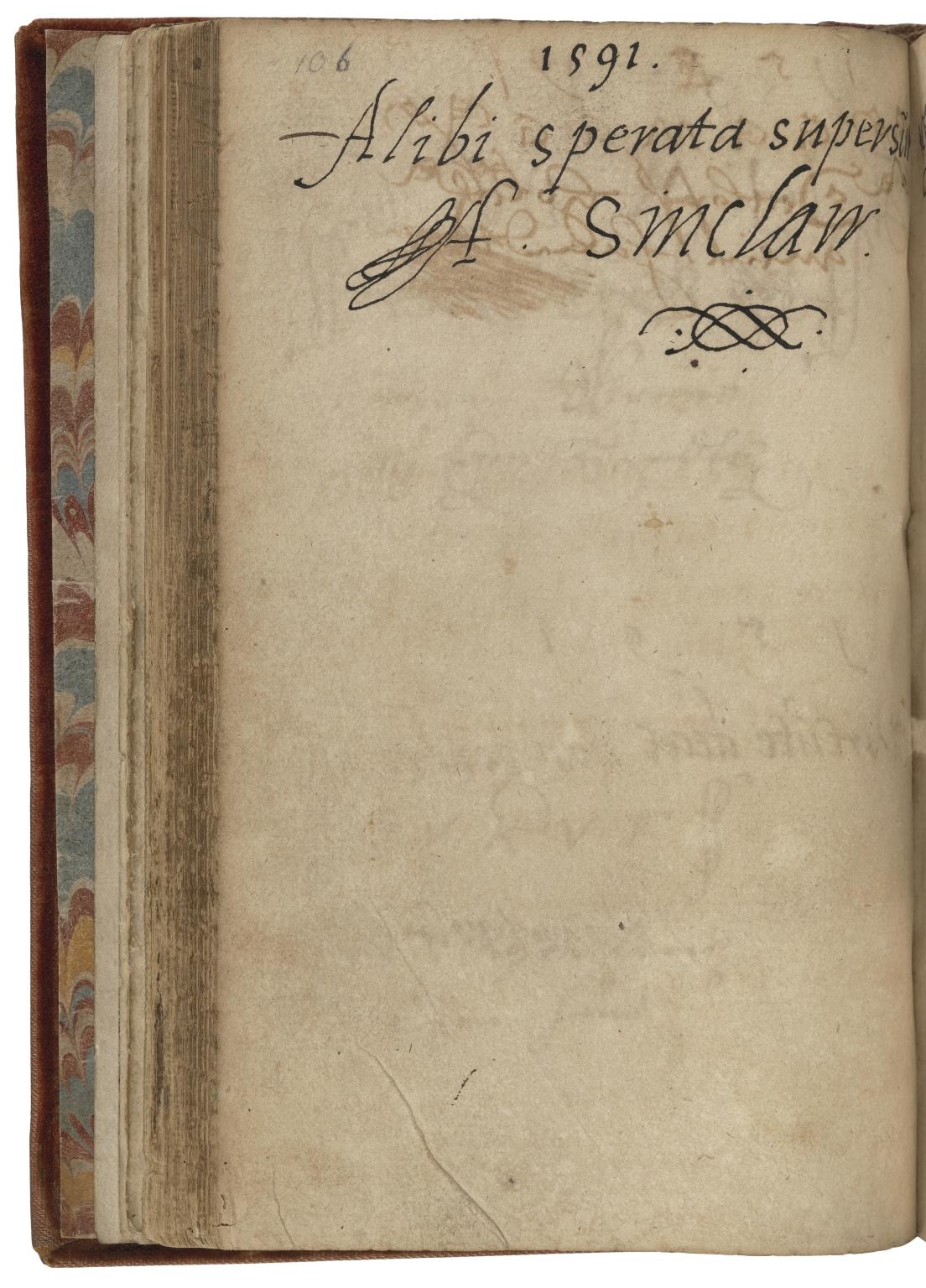 Album amicorum [manuscript], 1564, 1590-1609.
