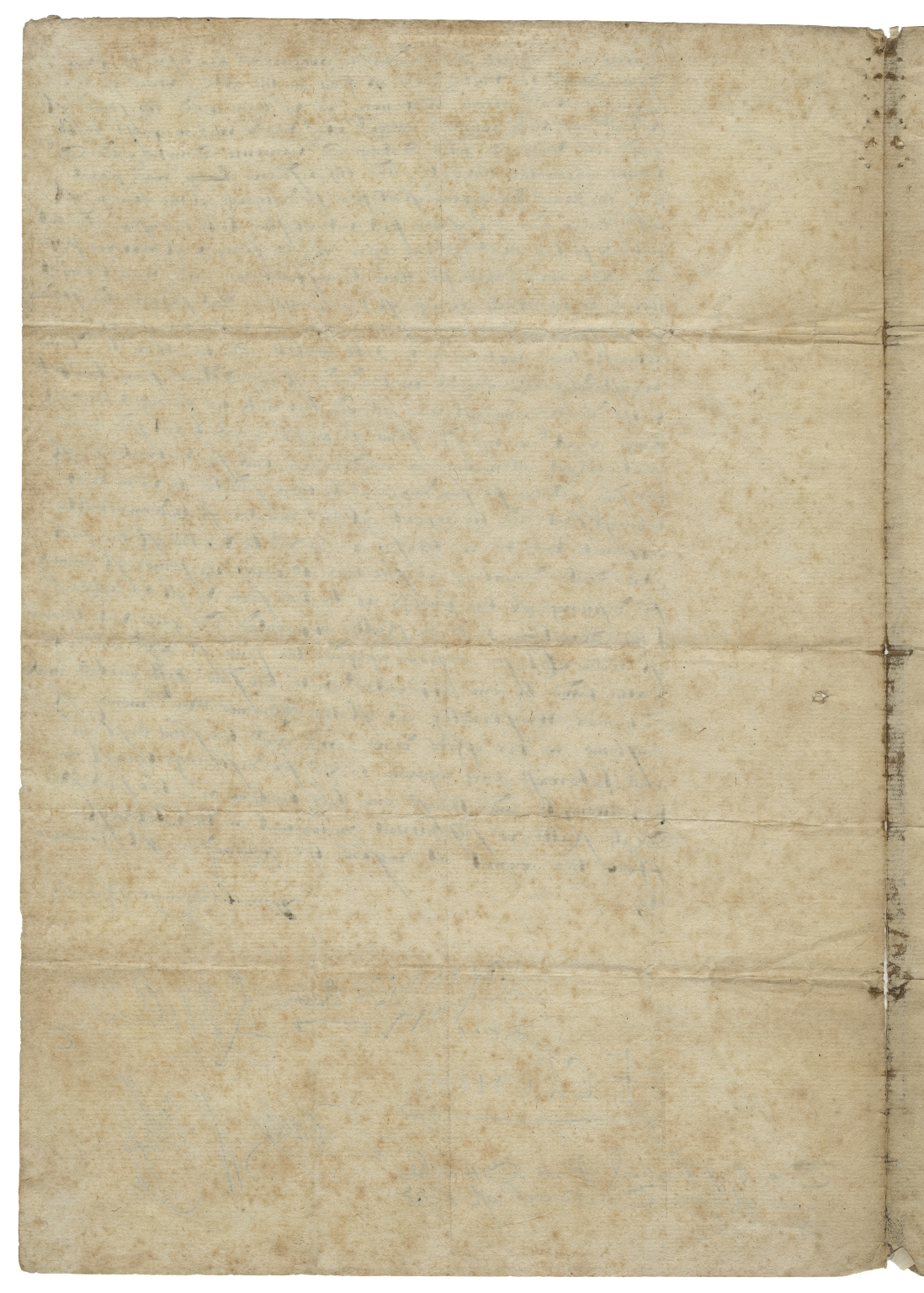 Letter signed from the Privy Council, Westminster, to William Paulet, Marquis of Winchester, Lord Treasurer of England and Sir Walter Mildmay, Chancellor and Treasurer of the Exchequer