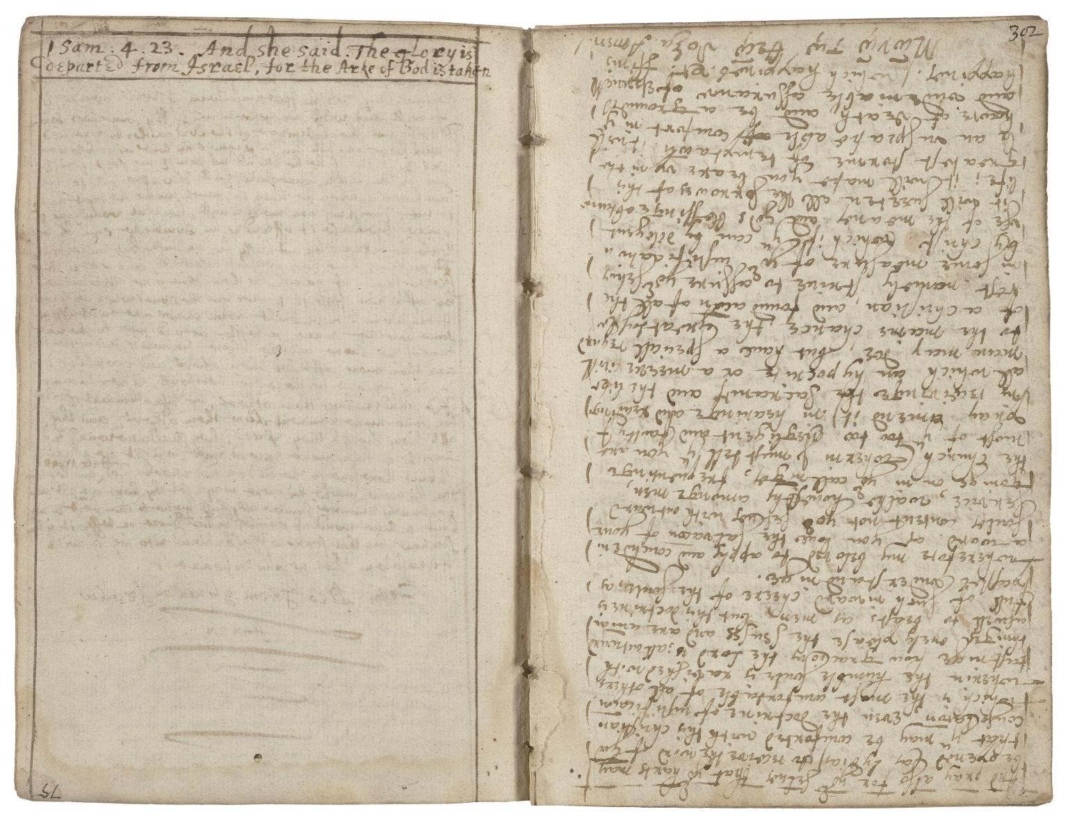 Manuscript sermons by Francis Frampton [manuscript].
