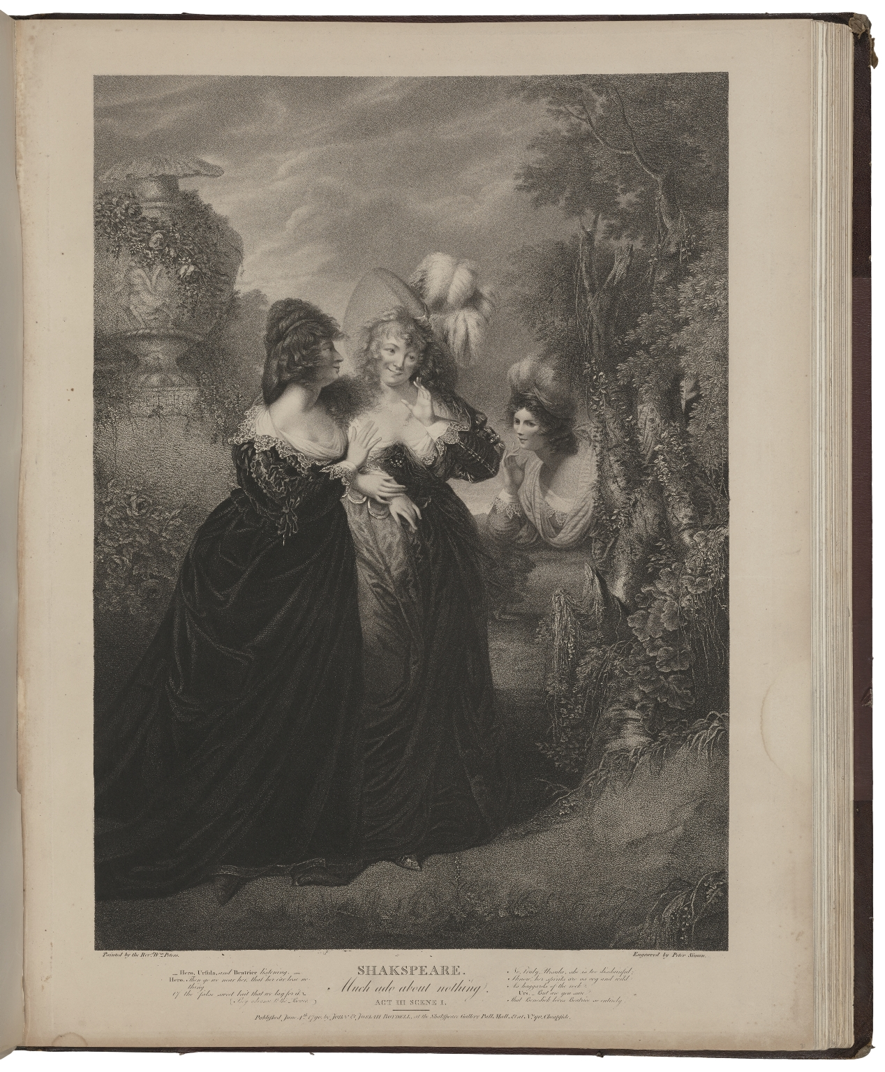 A collection of prints, from pictures painted for the purpose of illustrating the dramatic works of Shakspeare / by the artists of Great-Britain.
