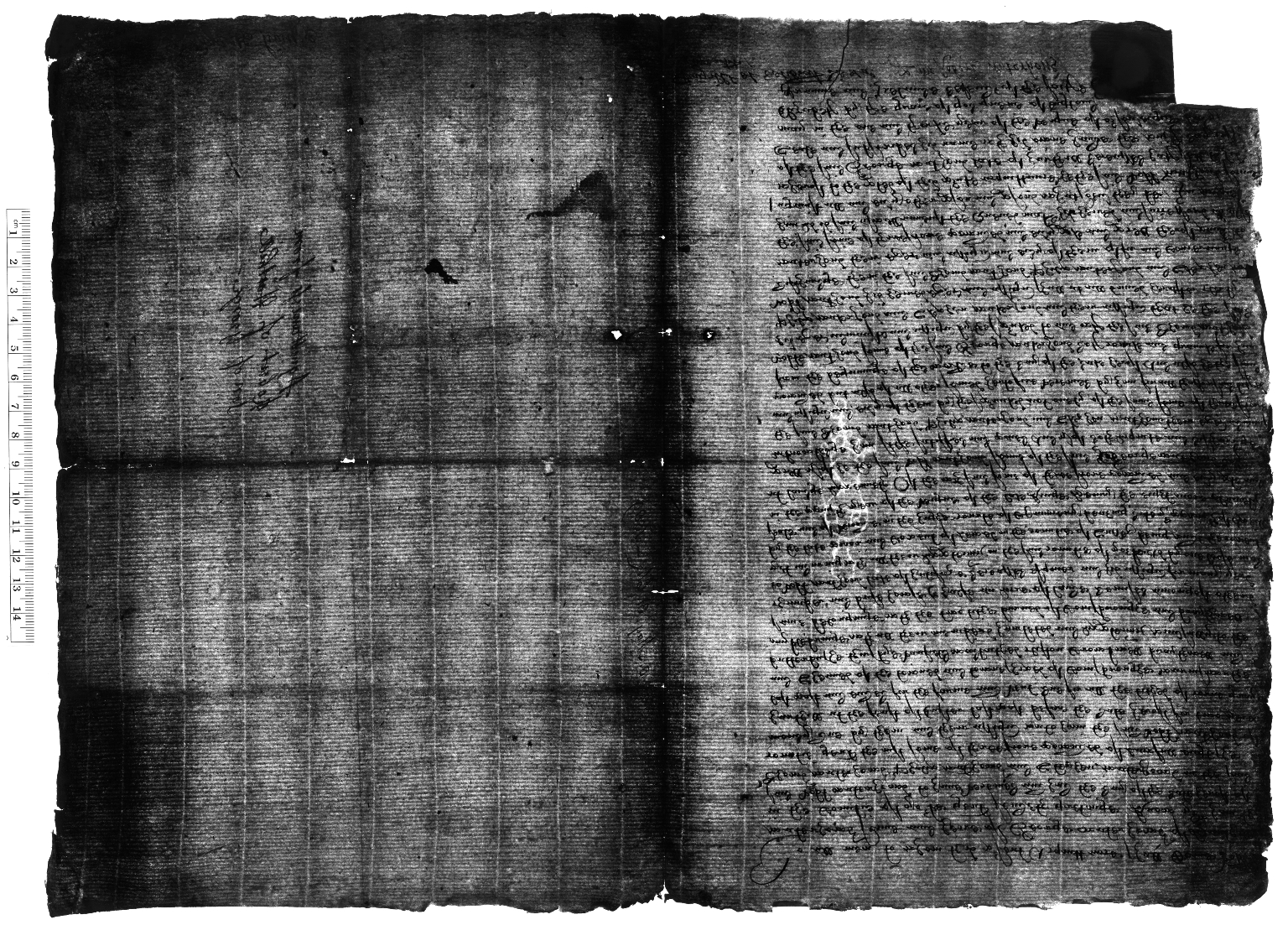 Acquittance from Robert Waterhouse of Harthill, Yorkshire, to Thomas Waterhouse, Philip Waterhouse, and Stephen Waterhouse of Harthill