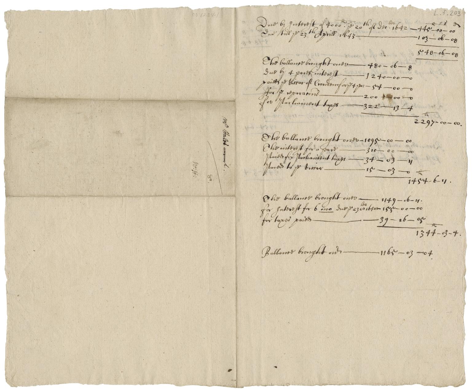 Accounts of William? Hale