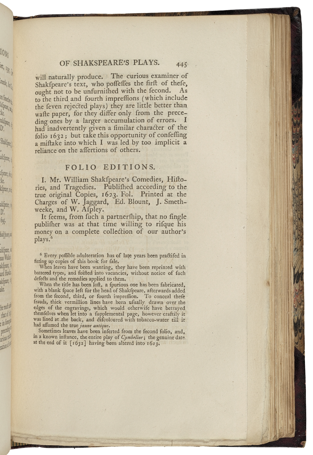 [Plays. 1793. T. Longman] The plays of William Shakspeare : in fifteen volumes : with the corrections and illustrations of various commentators : to which are added notes / by Samuel Johnson and George Steevens.
