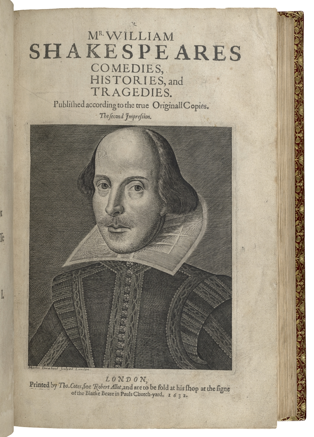 [Plays] Mr. VVilliam Shakespeares comedies, histories, and tragedies. : Published according to the true originall copies.