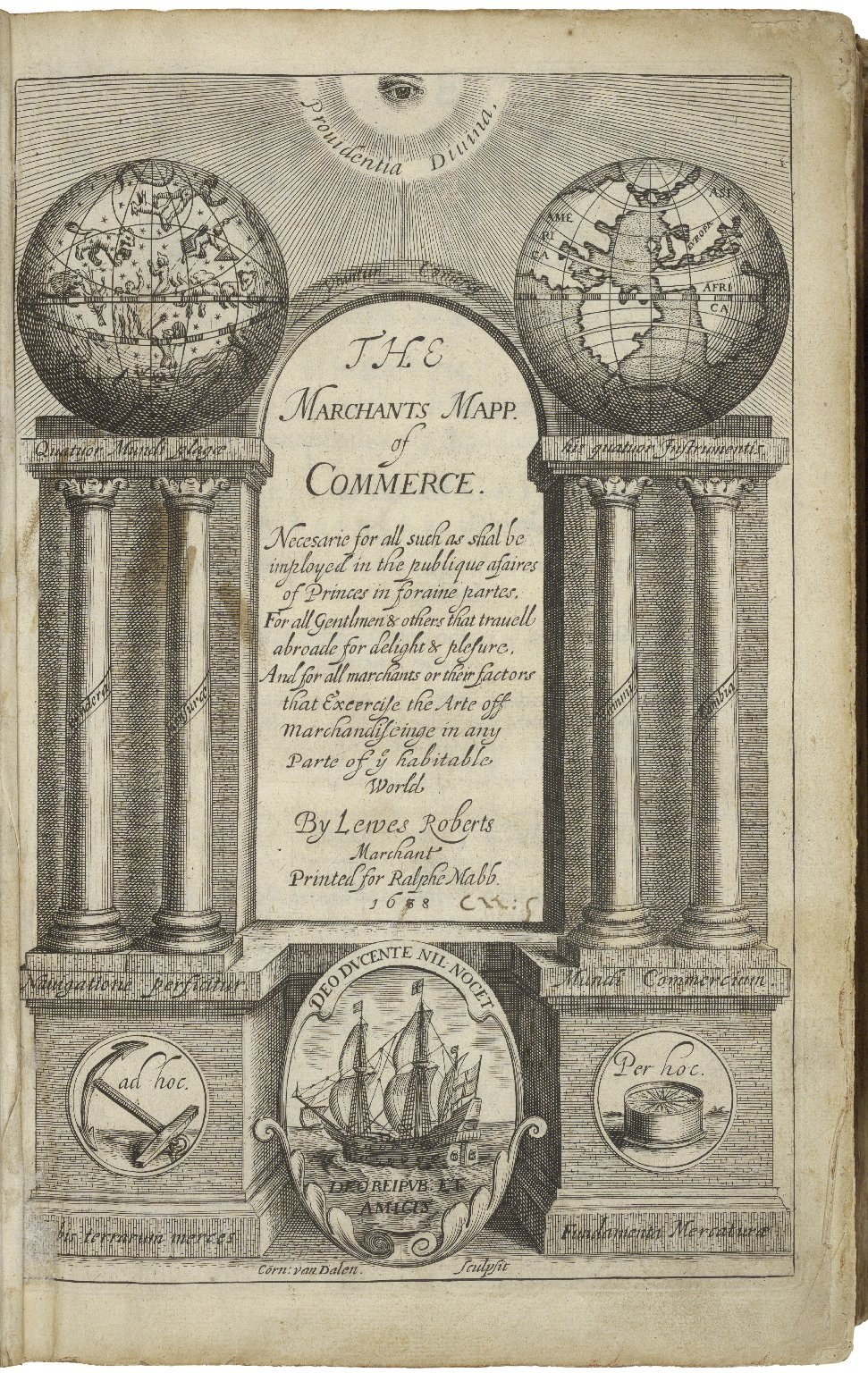 The merchants mappe of commerce : wherein the universall manner and matter of trade, is compendiously handled : the standerd and currant coines of sundry princes observed : the reall and imaginary coines of accompts and exchanges expressed : the naturall