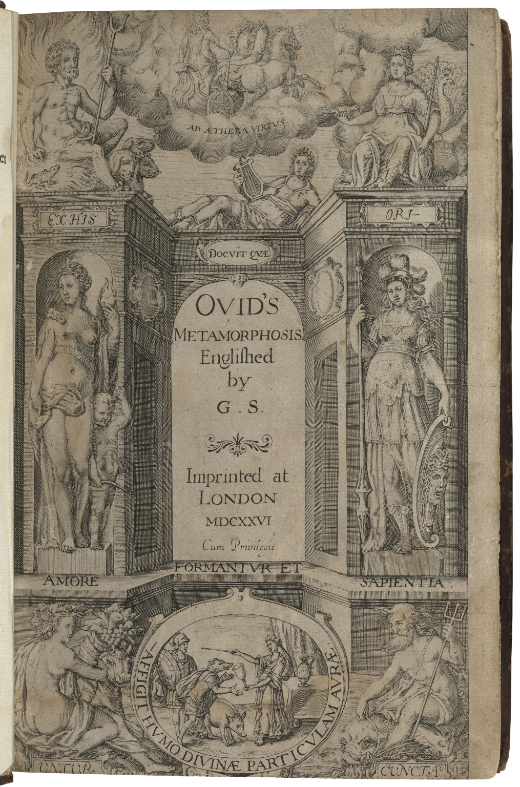 Ovid's Metamorphosis Englished by G. S.