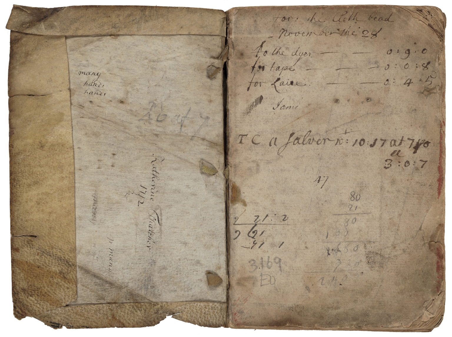 Medicinal and cookery recipes of Mary Baumfylde [manuscript].