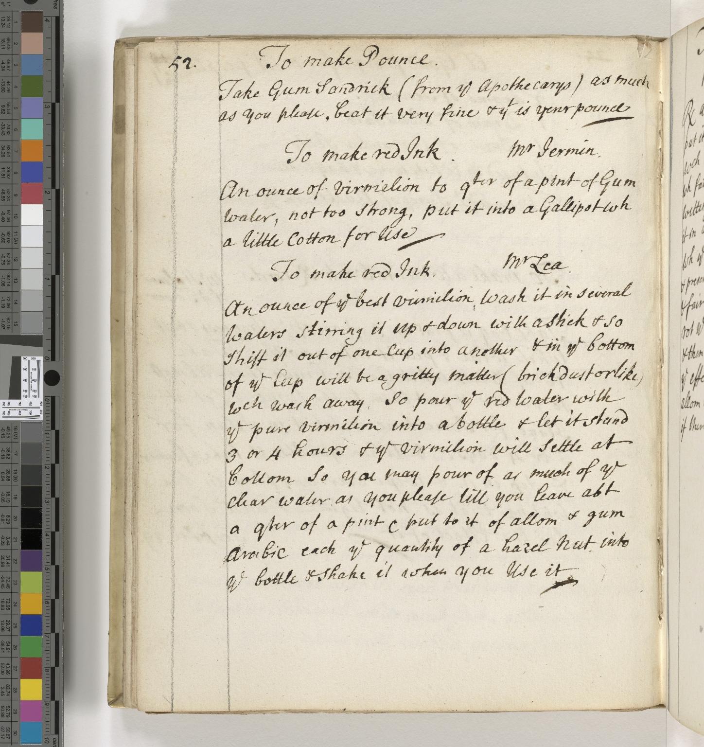 Miscellaneous receipts [manuscript].