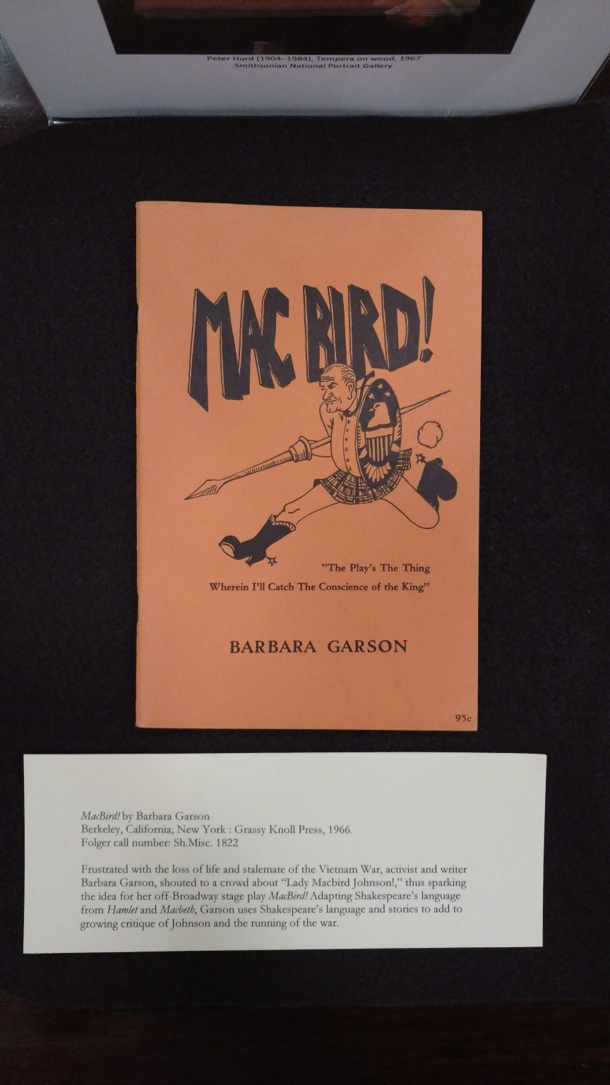 MacBird / by Barbara Garson.