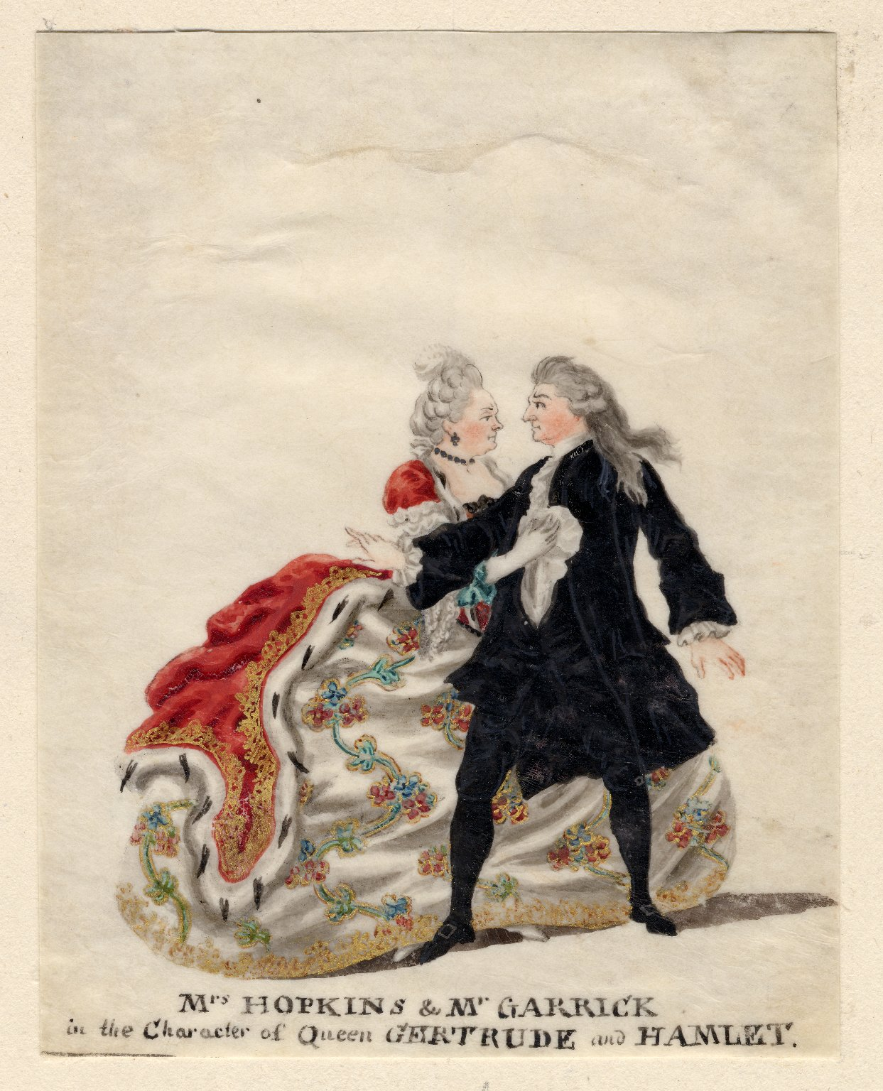 Garrick and his contemporaries